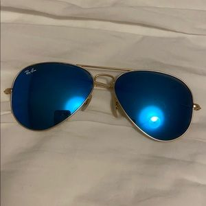 Blue Aviator Ray-bans - authentic